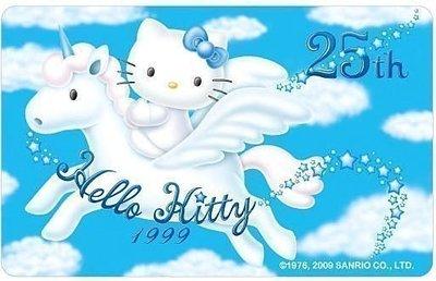 Hello kitty35週年紀念版悠遊卡(25週年款) 直購價690元