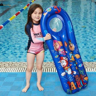 (優購旗艦店)充氣沖浪板兒童浮排水上戲水玩具坐騎浮床學游泳泳圈打水板(規格不同價格也不同)
