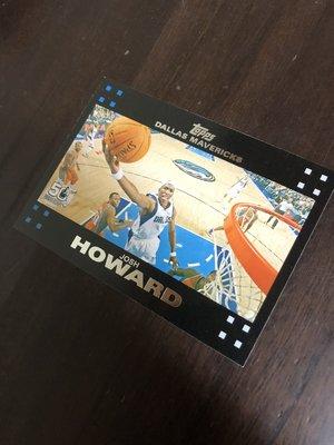JOSH HOWARD  2007 TOPPS 50紀念卡 97 卡片如圖