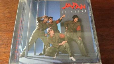 "JAPAN IN VOGUE 經典新浪漫音樂代表樂團英國版1996年罕見盤收錄3首12""單曲"