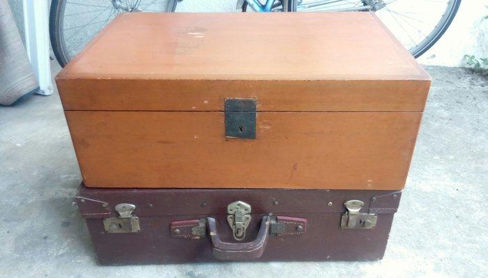 [ov&O] 老檜木嫁妝箱