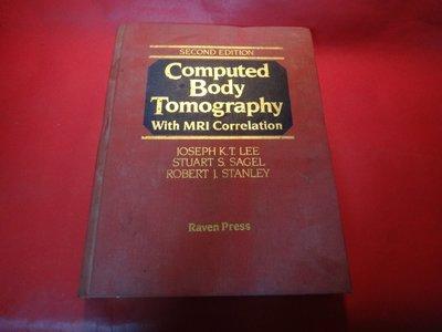 【愛悅二手書坊 14-09】Computed Body Tomography With Mri Correlation