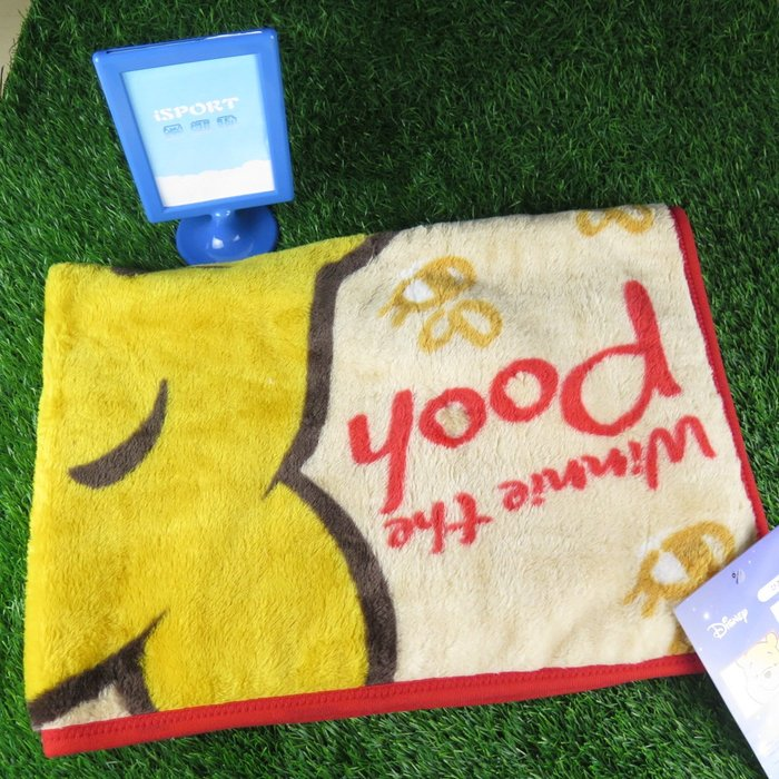 【iSport代購】日本代購 台灣現貨 DISNEY 維尼熊 毯子 毛毯 2245012000 交換禮物