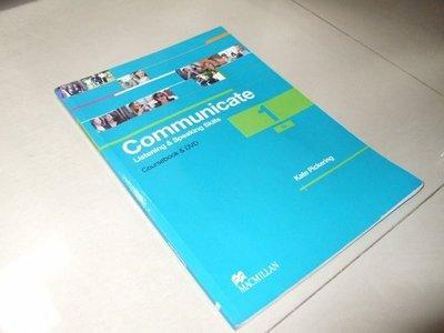 古集二手書f ~Communicate 1 Kate Pickering 9780230440180