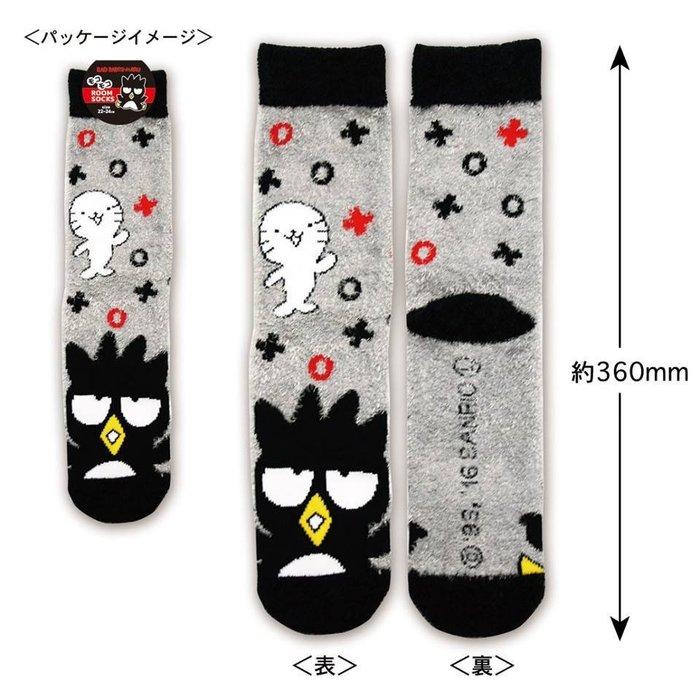 41+現貨免運費 襪子 三麗鷗系列 羽毛紗 保暖襪 地板襪 BAD BADTZ-MARU 酷企鵝  小日尼三