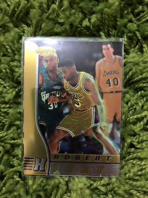 【美】Robert Horry 季後賽先生1997 Bowmans best #20 湖人隊 NBA 球員卡