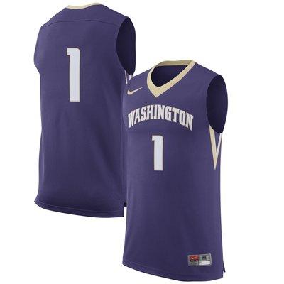 NCAA 華盛頓大學西雅圖分校籃球球衣和球褲 Washington Huskies 美國大學 超熱血