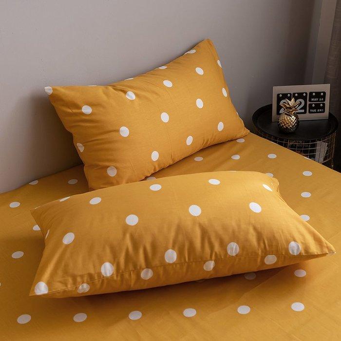 西柚姑娘雜貨鋪☛熱賣中#網紅北歐潮牌豹紋全棉斜紋枕套 枕芯套純棉枕頭套48*74枕套一對裝