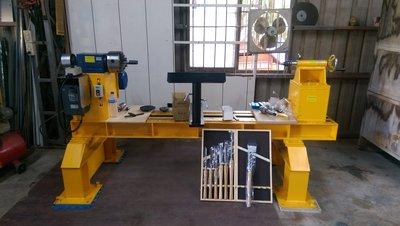 *達哥木工車床*WE-150型專業變頻式木工車床.旋轉直徑90公分*3尺*使用長度150公分*(5尺長)