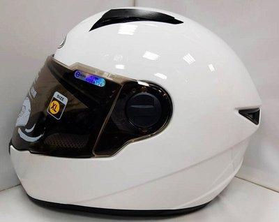頭等大事安全帽 瑞獅 ZEUS ZS-811 素色白色 全罩 輕量化 贈日本進口防霧貼片+免運