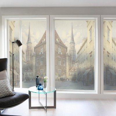 玻璃窗貼 靜電窗貼 全遮光窗貼 無膠窗貼 不透明窗貼 防窺防走光 可定制靜電免膠玻璃貼膜衛生間浴室窗戶移門辦公室透光不透