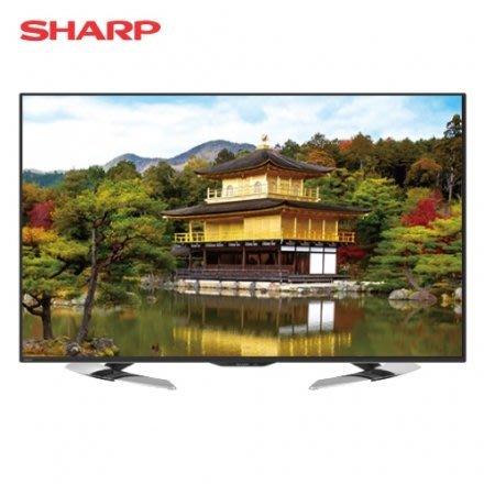 《鴻韻音響影音生活館》SHARP LC-65U35MT 65V 液晶電視