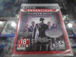PS3 黑街聖徒 3 完整版 Saints Row The Third The Full Package 英文版 全新