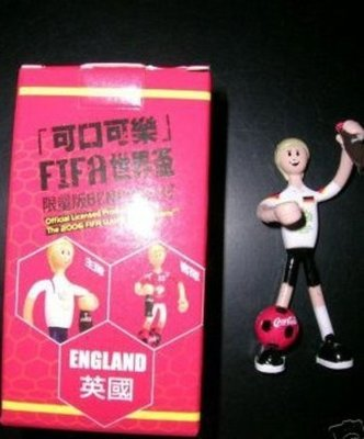 COCA COLA 可口可樂 WORLD CUP 2006 BENDOS ENGLAND