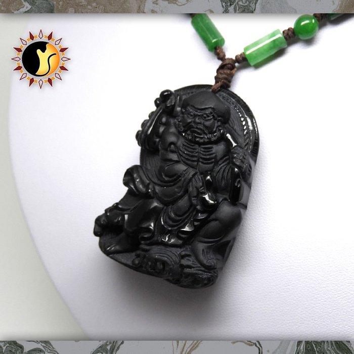 ☼§太陽貓水晶§☼【菩提達磨】達摩祖師 覺悟 黑曜石 Obsidian