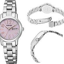 日本正版 CITIZEN 星辰 wicca KH3-410-91 手錶 女錶 太陽能充電 日本代購