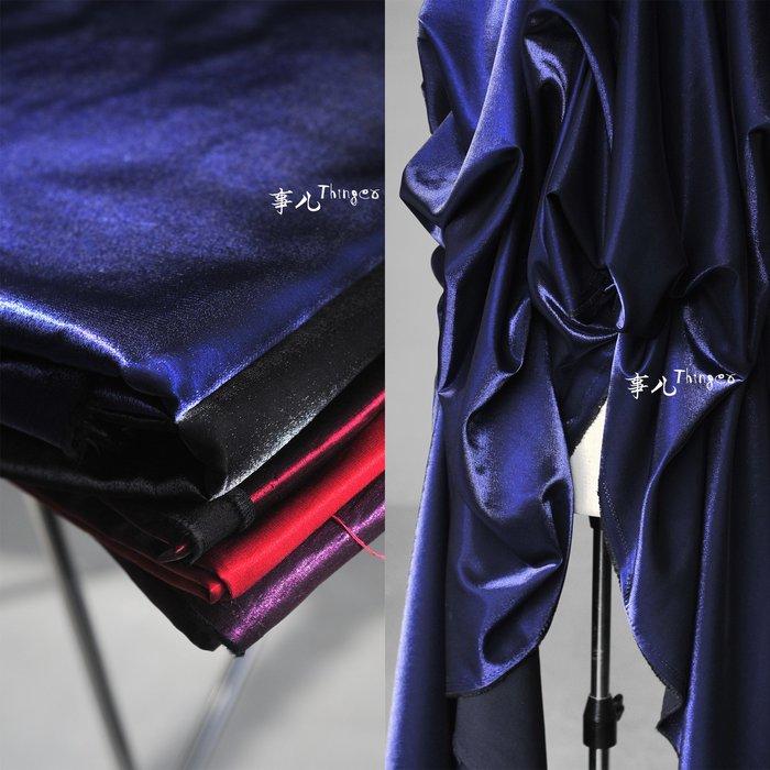 布料 加厚色織錦棉緞A組-人棉尼龍混紡 禮服時裝銀線閃光面料/半米價