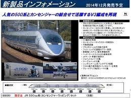 TOMIX 1/150 N規 JR500 7000系 山陽新幹線 (V3編成) 8入 限定版 (98936)