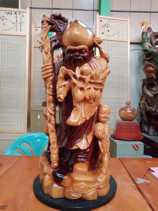2呎1 壽星 年級仙翁 台灣紅豆杉雕刻