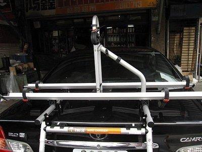 (柚子車舖) 三菱 FORTIS LANCER GALANT 快克 鋁合金 腳踏車架 附認證文件(免驗車)