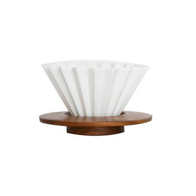 Simple Real TAMAGO陶瓷摺紙咖啡濾杯S日本授權聯名咖啡師比賽款