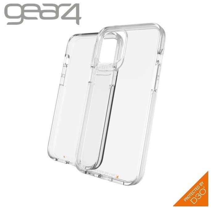 Gear4 iPhone 12 mini / Pro Max 透明抗菌4米 Crystal Palace 防摔殼 喵之隅