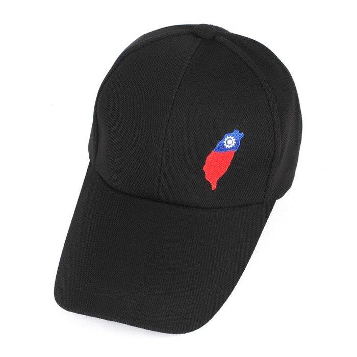 ☆二鹿帽飾☆(國旗帽) /流行棒球帽/紀念帽/最新帽款帽簷加長型-台灣製(可客製化) 10.5cm-黑色