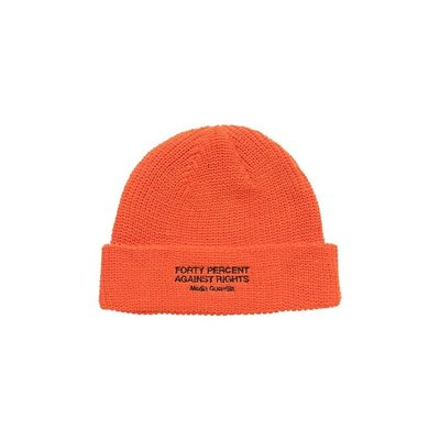 (A.B.E)FORTY PERCENT AGAINST RIGHTS SS20 BANNER BEANIE 兩色