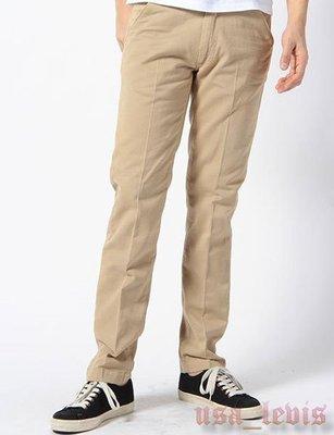 【現貨W32L32】美國Levi s Made & Crafted Spoke Chinos 高質感斜口袋卡其褲 工作褲