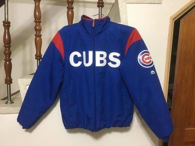 Chicago Cubs 小熊隊 on-field 球員版外套 美規 S 一朗 大谷 陳金鋒 彭政閔
