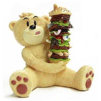 [狗肉貓]__Bad Taste Bears_壞壞熊_大麻之後的我_巨無霸漢堡_一定愛吃壞壞熊