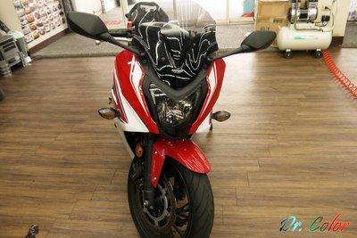 Dr. Color 玩色專業汽車包膜 Honda CBR 650F 車燈保護膜