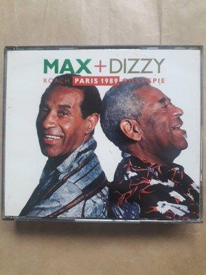 (下標即結標)Max Roach + Dizzy Gillespie - Paris 1989(西德版,2CD)