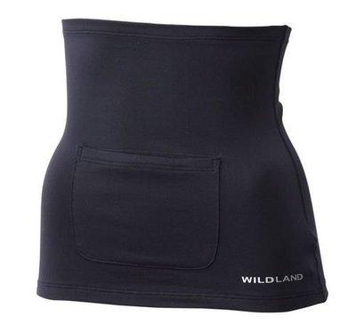 WILDLAND 荒野 A12031中性遠紅外線彈性保暖肚圍 可放暖暖包 登山/露營/戶外活動/運動/肚兜/保暖內衣