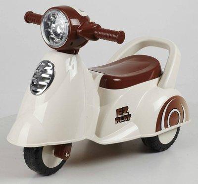 【W先生】小偉士學步車 兒童 機車 摩托車 偉士牌 滑行車 學步車 滑步車 三輪 童車