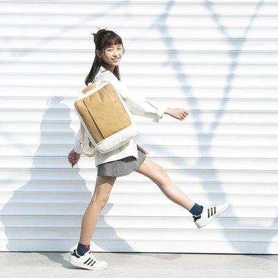 ♠Shuter15寸電腦包女後背包2018新款旅行水洗紙百搭大學生背包♠♠時尚小鋪