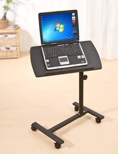 【易發生活館】新品時尚熱銷爆款360度水平旋轉桌面 移動升降筆記本電腦桌 床上電腦桌 床邊桌 懶人電腦桌 筆記本電腦桌電腦椅