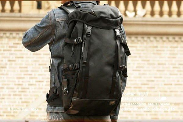 【易發生活館】新品吉田 head porter 風格同款 男登山包男背包男旅行包男包雙肩背包帆布日韓XBA079大容量