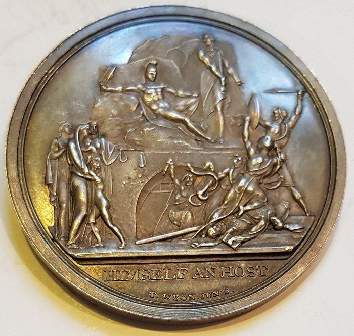 英國銀章 1813 UK William Pitt (1759-1806) Pitt Club Silver Medal