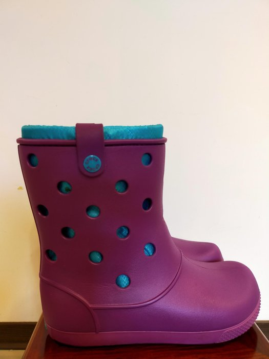 CROCS雨靴 9號