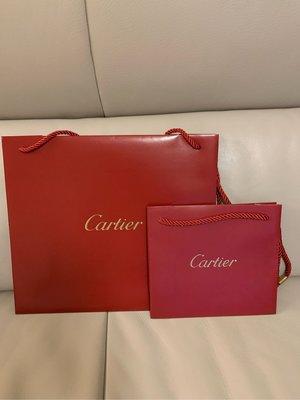 Cartier 全新 紙袋 正品 各種尺寸 聖誕節禮物 台北市