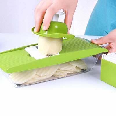 LoVus 厨房多功能切菜器 刨絲切片器套裝