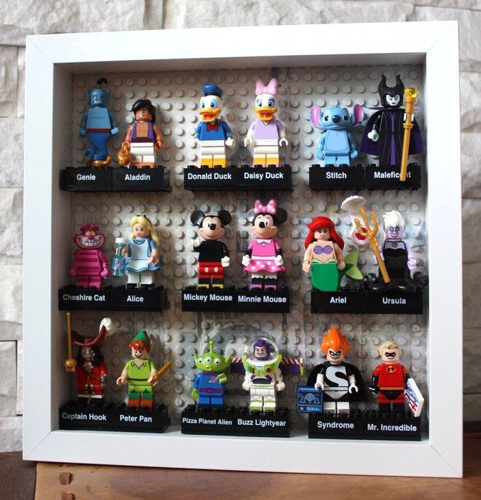 超值人偶相框組【LEGO 樂高】迪士尼 Disney 系列:Minifigures人偶包抽抽樂 全套共18個 71012