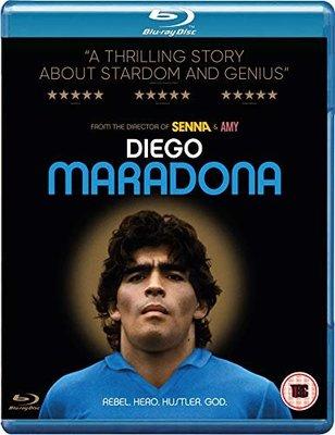 毛毛小舖--藍光BD 世紀球王馬拉度納 英國限定版 Diego Maradona