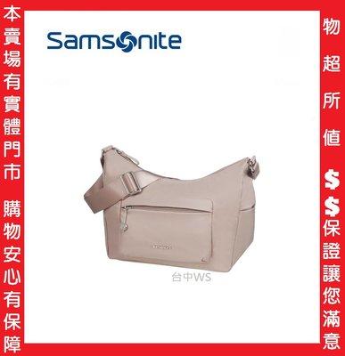 玫瑰粉 Samsonite新秀麗 Move3.0 抗菌經典時尚女性肩背包 超輕量尼龍側背包 斜背包 百貨專櫃全新現貨