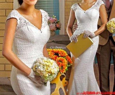 客製化 定製7天到貨   專業訂製款 中大尺碼純手工婚紗 禮服訂製 / 自助婚紗Wedding
