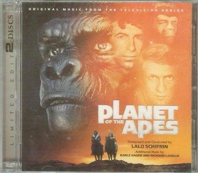 """浩劫餘生 2CD加長版(Planet of the Apes)""- Lalo Schifrin,全新美版,45"