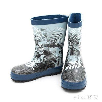 兒童雨鞋  兒童雨靴環保橡膠防滑加厚印花寶寶小孩學生男童 nm8842