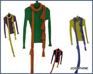 喬瑟芬【CATHERINE ANDRE'】特價$6800~2010'秋冬羊駝毛粗針流蘇長圍巾(3色)~全新真品!
