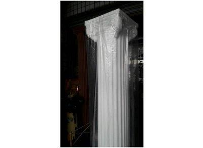 PE 輕質材質羅馬柱~ 櫥窗展示專用. 展覽佈置 婚禮節慶.色澤白色,高度246cm @$5800下標區
